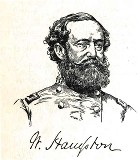 line drawing of General Wade Hampton