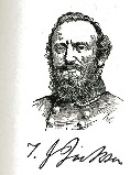 line drawing of General Stonewall Jackson