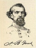 line drawing of General Nathan Bedford Forrest
