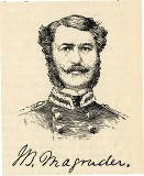 line drawing of General John Bankhead Magruder