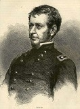 line drawing of General Joseph Hooker
