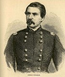 line drawing of General George B. McClellan