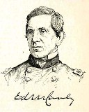 line drawing of General Edward R. S. Canby