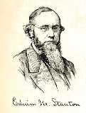 line drawing of Edwin M. Stanton