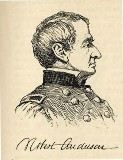 line drawing of General Robert Anderson